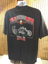 Mens Yuma AZ Prison Run Shirt 2015 Cotton Biker Motorcycle Skull Pullover Blk XL - $18.95