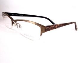 Rough Justice Cheater Gold Rush Eyeglasses Women Ladies 54-17-135 New - $79.16