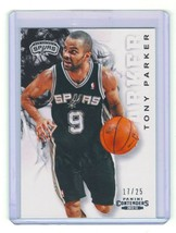2012-13 Panini Contenders Tony Parker Card No 101 Silver 17/25 RARE 1st ... - $19.79