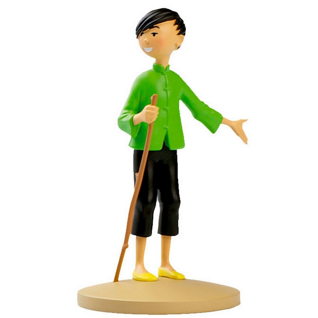 Tchang Polyresin figurine Official Tintin product