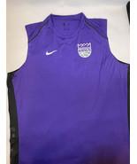 Nike NBA Sacramento Kings Sz 3X-T Team Issued Sleeveless Practice Shirt ... - $57.82