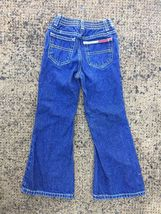 Tommy Hilfiger Girls 6 Flare Jeans Denim Pants G27 image 3