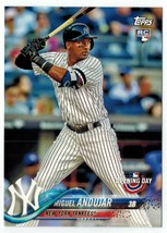 MIGUEL ANDUJAR 2018 Topps Opening Day #137 ROOKIE CARD - $1.99