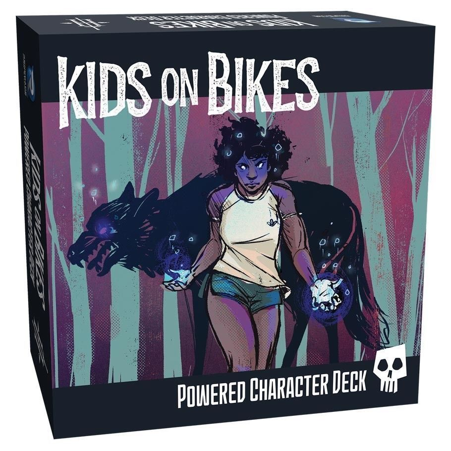 Kids on Bikes Powered Character Deck RPG Role Playing Game Renegade REN0825