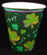 St. Patricks Day Party Cups (8) - Party Supplies - $3.67