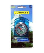 HAWK PC900 - Blue Base Plate Compass Scouts Brownies hiking camping NEW ... - $5.13