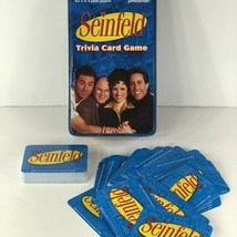 Seinfeld Trivia Card Game in Collectible Tin by Pressman complete 1 pack sealed - $54.44