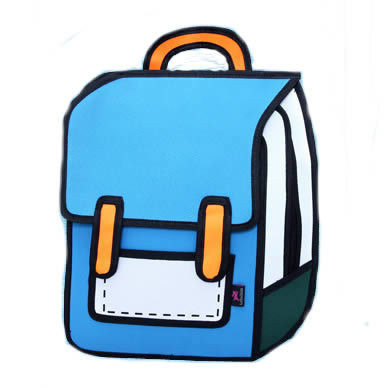 Primary image for 3D Jump Comic pacs pac ns Outdoor 2D Drawing Schoolbags