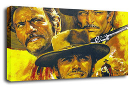 "Decor Art Oil Painting Print On Canvas Modern ""The Good, the Bad and the... - $13.95+"