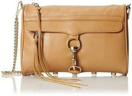 NWT Rebecca Minkoff Morning After Clutch Full MAC FATIGUE TAN Crossbody ... - $165.00