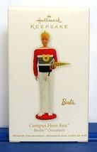 2011 Hallmark Keepsake Ornament Barbie Campus Hero Ken Christmas Decoration - $8.90
