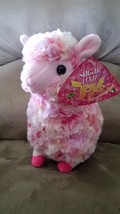 "Llama Pink and Red Brand New Plush NWT Stuffed Animal w/ Tags 11"" - $19.99"