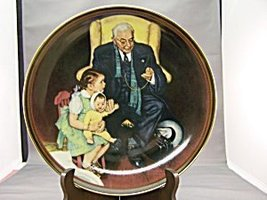 Norman Rockwell Tender Loving Care Plate by Norman Rockwell - $29.70