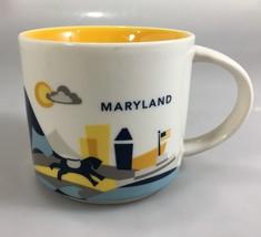 Starbucks Maryland You Are Here Coffee Mug Cup 14 oz YAH Collection 2017 - $29.89
