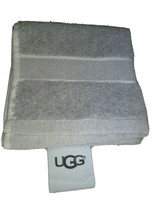 "UGG®  washcloth  Towel in Gray 12"" X 12"" new with out tags.  image 1"