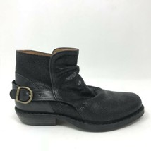 Fiorentini + Baker Womens Sz 35 US Sz 5 Carnaby Carol Ankle Boot Black L... - $215.04