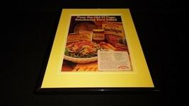1986 Old El Paso Nachips Taco Sauce Framed 11x14 ORIGINAL Vintage Advert... - $32.36