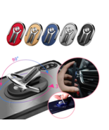 Rotary Car Phone Holder Ring / The Ultra 360° Phone Mount & Stand - $8.99