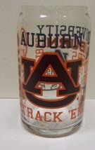 Ncaa Glass Beer Can Football Sec Collegiate Spirit Glass Can - Auburn - $13.85