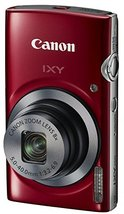 Canon Digital Camera IXY 150 (Red) - International Version - $218.23