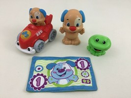 Fisher Price Baby Toddler Toys Dog Dollar Frog Rattle Musical Car Figure... - $15.99
