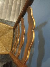 Vintage Tell City Hard Rock Andover Maple Ladderback Chair 2312 #4 image 1