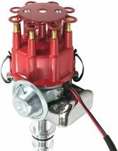 Ford SBF R2R Distributor 260 289 302 5.0L V8 8mm Spark Plug Wires 45K Volt Coil image 2