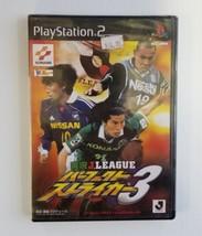 Commentary J-League Perfect Attaccante 3 Calcio PS2 Dal Giappone Playsta... - $34.52