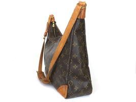Authentic LOUIS VUITTON Monogram Canvas Leather Boulogne 35 Shoulder Bag image 3