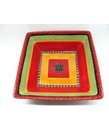 """Tabletops Gallery Rumba 11 5/8 """" Square Serving Bowl In Excellent Condition - $49.15"""