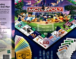 Monopoly -The Disney Edition - Property Trading Game From Parker Brothers -2001 image 3
