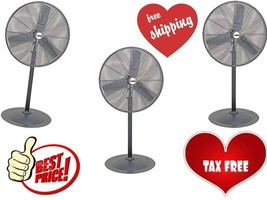 30 in. Pedestal High Velocity Shop Garage Home Industrial Commercial Fan - $188.66