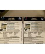 2 NEW GENUINE HP 11 INK CARTRIDGES C4836A-C4837A Cyan & Magenta FACTORY ... - $44.55
