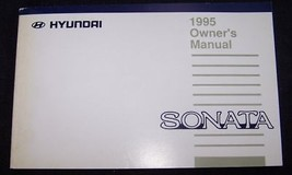 1995 hyundai sonata owners manual new original - $10.99