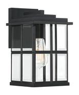 Mulligan 1-Light Outdoor in Matte Black - $109.99