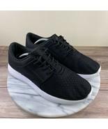 Fabletics Cove Black Mesh Lace Up Comfort Sneakers Womens Size 9 - $39.95