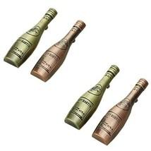PANDA SUPERSTORE Set of 4 Retro Pastoral [Bottle] Zinc Alloy Drawer&Door Handles