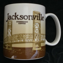 Starbucks Jacksonville Coffee Mug Cup 2011 Florida Global Icon City Coll... - $53.04