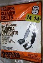 Vintage Vacuum Cleaner Belts For Eureka (Uprights 200-2000 Series) & Hoover (91, - $9.89