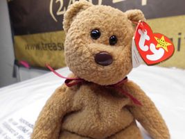 Rare Ty Beanie Babies Curly, Double Tush Tag and other errors image 7