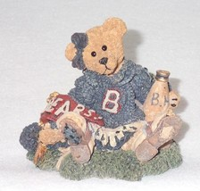Boyd Bearstone Resin Bears 1995 Bailey The Cheerleader Figurine #2268 31... - $8.56