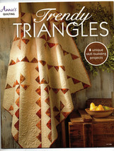 2015/Trendy Triangles/Annie's Quilting/Preowned Book - $4.99