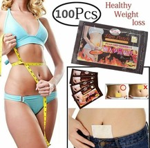 Slimming Patch 100Pcs Weight Loss Navel Burning Fat Patches Slim Diet Na... - $6.35