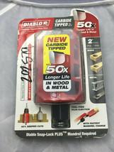 "Diablo DHS2000CT 2"" Dia x 2-3/8"" (60MM) Cutting Depth Carbide Tipped Hol... - $14.85"