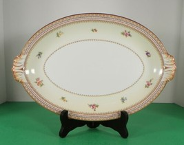 "Meito China Asama Shape MEI299 Handled Oval Serving Platter 13"" - $29.65"