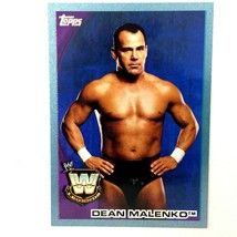 WWE Dean Malenko 2010 Topps Card #79 Blue Serial Numbered Parallel  - $2.92