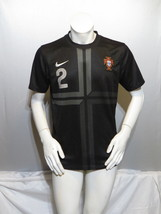 Team Portugal Jersey - 2014 Third Jersey # 2 by Nike - Youth Extra-Large  - $49.00