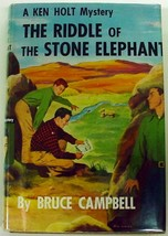 Ken Holt Mystery no.2 The Riddle of the Stone Elephant hcdj Near Fine co... - $9.00