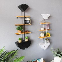Iron Fish Bone Bookshelf Partition Carrier Hanging Originality Fillet De... - $164.99
