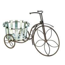 Summerfield Terrace Galvanized Bucket Bike Garden Plant Stand - $44.65